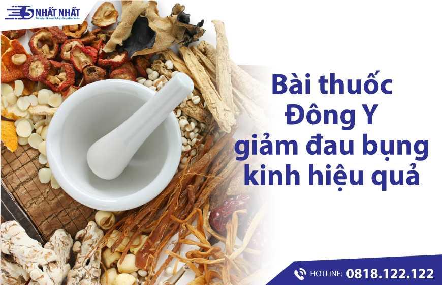 Những bài thuốc Đông Y giảm đau bụng kinh hiệu quả cho chị em