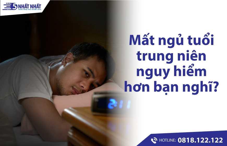 Mất ngủ tuổi trung niên nguy hiểm hơn bạn nghĩ! Làm sao để dễ ngủ và ngủ ngon?