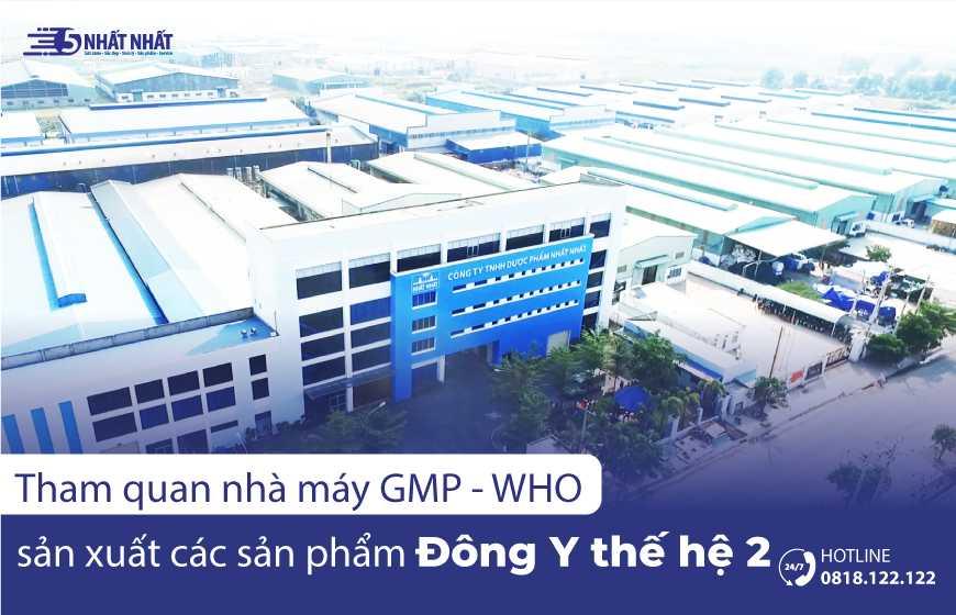 Nhà máy Dược phẩm Nhất Nhất đạt chuẩn GMP - WHO