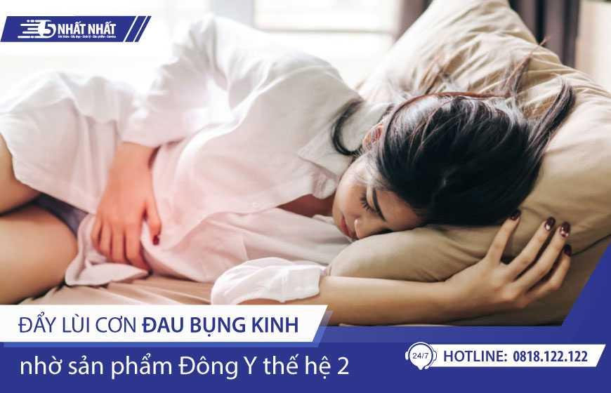 Đẩy lùi cơn đau bụng kinh hiệu quả nhờ Đông y thế hệ 2