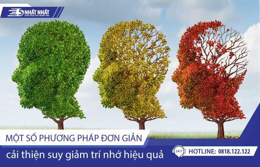 Một số phương pháp đơn giản giúp cải thiện suy giảm trí nhớ hiệu quả